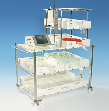 Allegro trolley configured for inline integrity testing of a sterile filter prior to buffer filtration